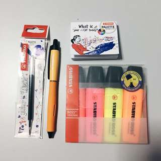 Stationary Set (stabilo)