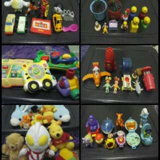 combo bundle of kids toys
