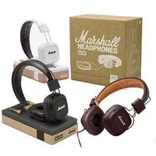 Marshall Major Headphones (BRAND NEW)