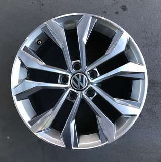 "Used 17"" Original Volkswagen Rims"
