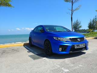 Kia Cerato Forte Koup 1.6 Manual SX 6-Speed