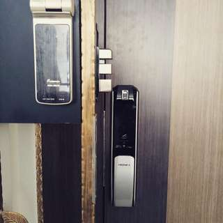 Digital lock for door and gate