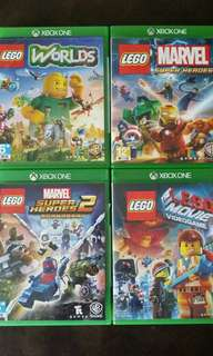 PREOWNED XBOX ONE LEGO GAMES