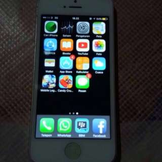 iphone 5 16 jaringan 3g hp +cassan
