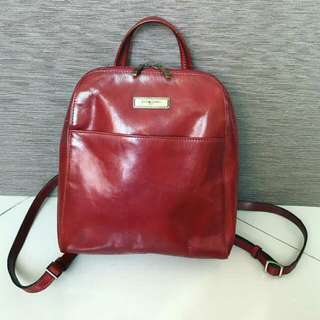 Authentic Rare Vintage Backpack Pierre Cardin