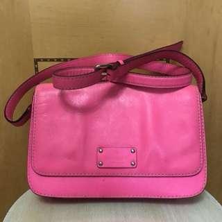 Kate spade shoulder bag pink (粉色斜背袋、單背袋)