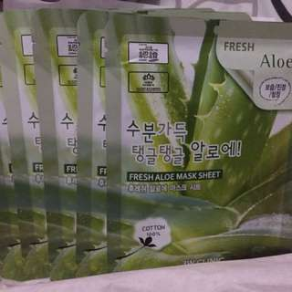 3W Clinic Fresh Aloe Mask