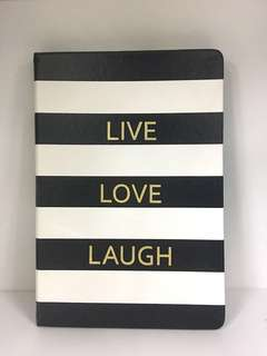 Live Love Laugh Quotes Notebook