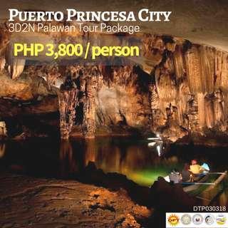 3D2N Puerto Princesa City Tour Package