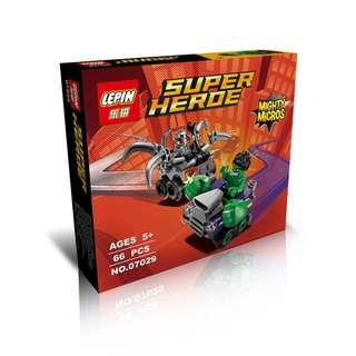 LEPIN 07029 Mighty Micros: Hulk vs. Ultron