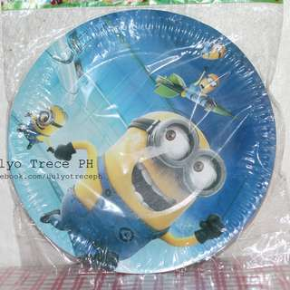Paper Plates for Kiddie Parties 10's