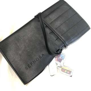 BN Sephora leather makeup pouch