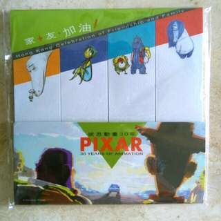 (全新 可免費贈送) Pixar 彼思 怪獸公司 反斗奇兵 玩轉腦朋友 Memo 便利貼