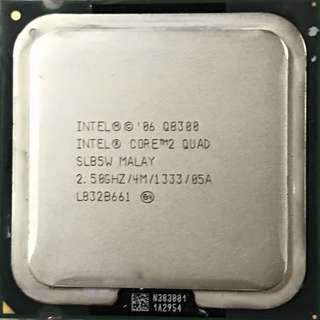 Intel Core 2 Duo Q8300 Processor