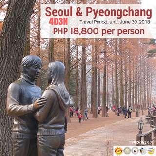 Seoul & Pyeongchang (4D3N Tour Package)
