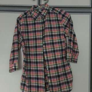 BN authentic Uniqlo 3/4 sleeve shirt