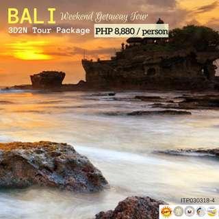 Bali Weekend Getaway