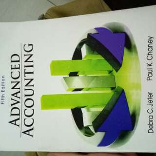 Advanced Accounting fifth edition