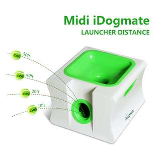 275 (Brand New) iDogmate Ball Launcher Automatic Rechargeable Ball Thrower Tennis Ball Launcher Remote Interactive Fetch Machine