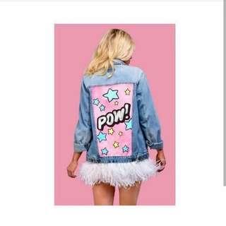 Jaket pow(beli 1 gratis baju)