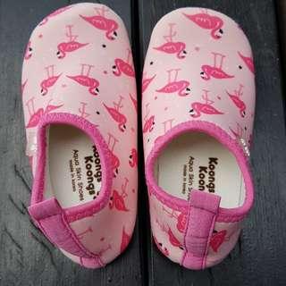 Girl's Aqua Shoes.