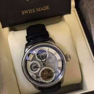 英國Earnshaw自動年月日手錶