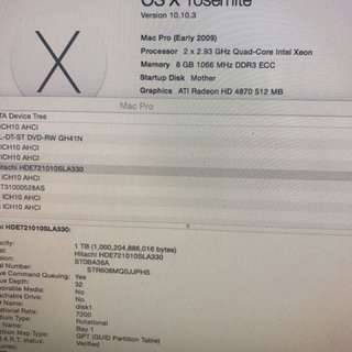 MAC PRO 2009 2.93Ghz Xeon x 2  8核心 頂配 連 Cinema Display LED 24吋 可散賣