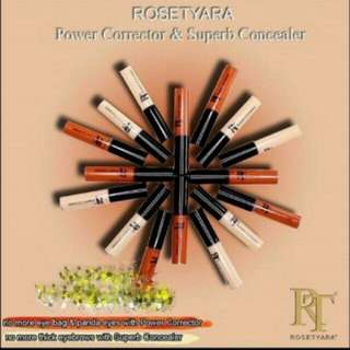 RoseTyara Power Corrector/Superb Concealer