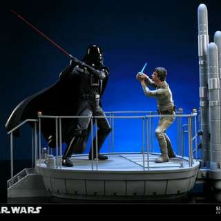 Looking for Star Wars Sideshow Darth Vader vs Luke Skywalker Diorama Statue