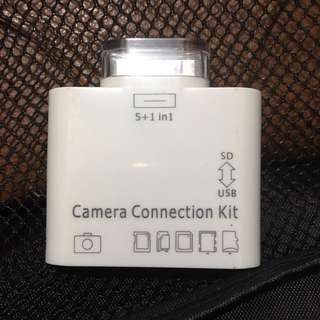 Apple ipad 舊插 camera connection kit