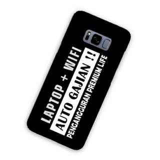 Laptop + Wifi Samsung Galaxy S8 Custom Hard Case
