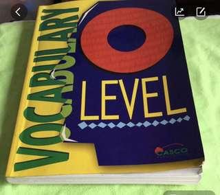 O leave vocabulary