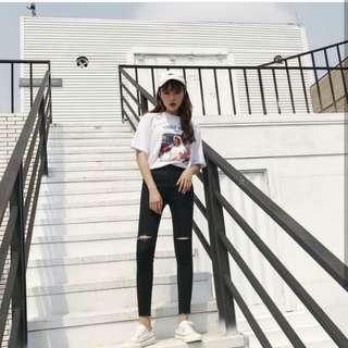 Celana levis(beli 1 gratis baju)