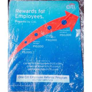 Citibank Referral Program MousePad