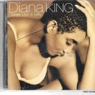 MY PRELOVED CD - DIANA KIN - THINK LIKE A GIRL  /FREE DELIVERY (F7D)