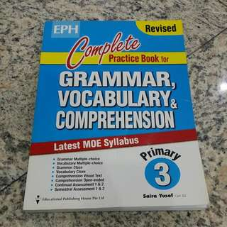 Grammar Vocabulary Comprehension For Primary 3 By Eph