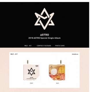 [Preorder] 2018 ASTRO SPECIAL SINGLE ALBUM (KIHNO ALBUM)