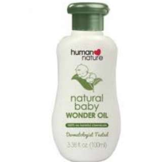 Human Nature Baby Oil 100 ml Powder Love
