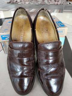 Gallus Dark Brown Leather Shoes