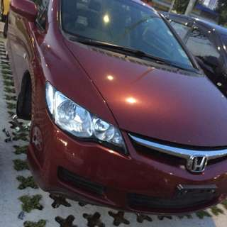 Honda Civic 1.6 whole spare parts availlable