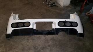 Mitsubishi colt version R rear bumper