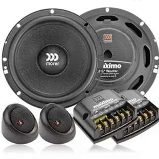 Morel Maximo 6 1/2 component set car hifi speaker