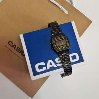 CASIO VINTAGE MATTE WATCH