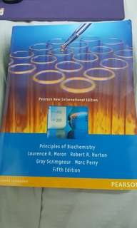 Principles of Biochemistry 5th edition