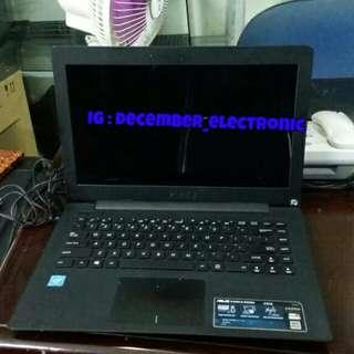 Laptop Asus X4535SA ram 2gb hdd 500gb intel celeron