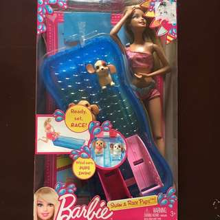 *Repriced* Barbie With 2 dogs