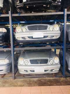 Mercedes w210 Halfcut ckd