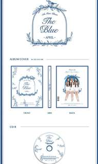 [Preorder] APRIL 5TH MINI ALBUM - THE BLUE CD + POSTER