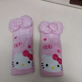 Hello Kitty car seat belt cover