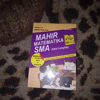 Mahir matematika edisi SMA (ktsp) #UBL2018